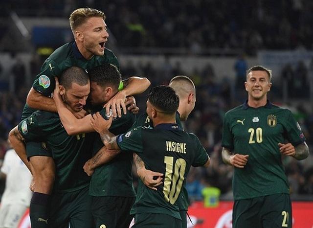 Hạ gục Hy Lạp, Italia giành vé dự Euro 2020 - 2