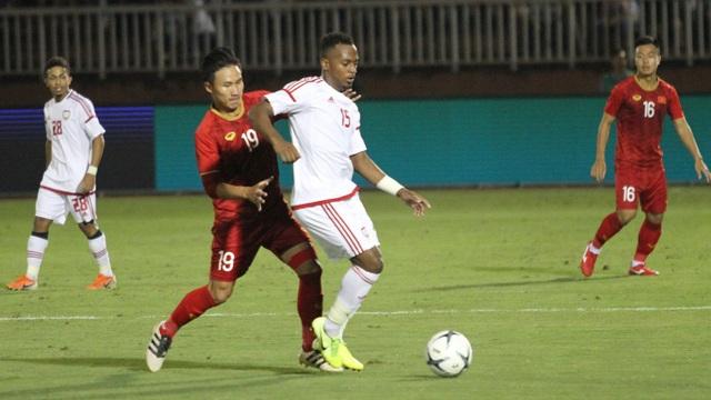 Đức Chinh ghi bàn, U22 Việt Nam cầm hòa U22 UAE - 15