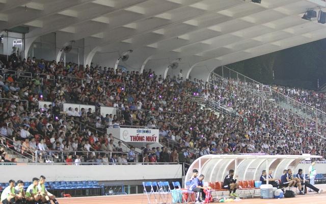 Sân Thống Nhất lung linh trong ngày U22 Việt Nam tái ngộ khán giả TPHCM - 1