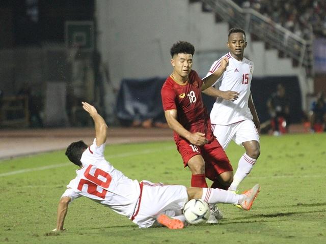 Đức Chinh ghi bàn, U22 Việt Nam cầm hòa U22 UAE - 3