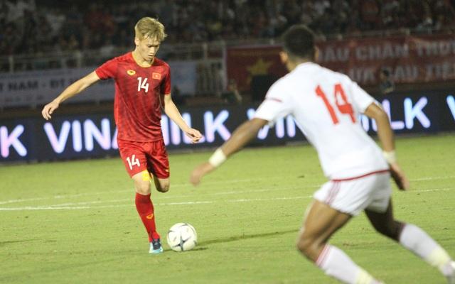 Đức Chinh ghi bàn, U22 Việt Nam cầm hòa U22 UAE - 2