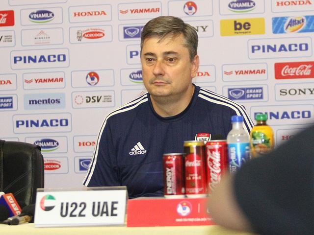 """""""U22 Việt Nam vẫn còn một số sai sót và tâm lý chủ quan trước UAE"""" - 2"""