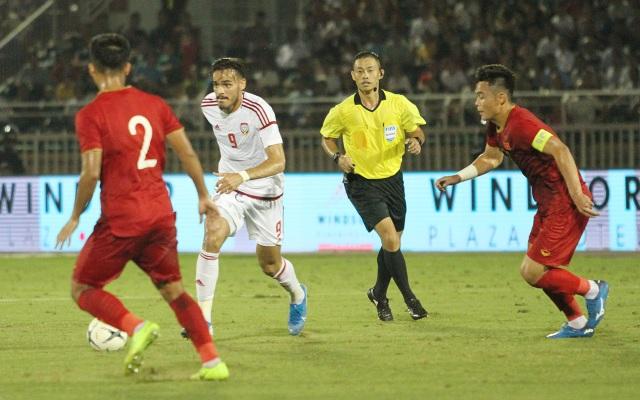 Đức Chinh ghi bàn, U22 Việt Nam cầm hòa U22 UAE - 1