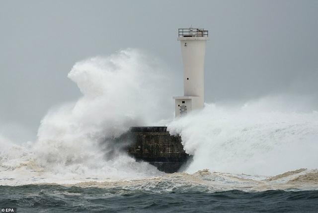 """Nhật Bản tan hoang sau siêu bão """"Quái vật"""" mạnh nhất trong 60 năm - 1"""