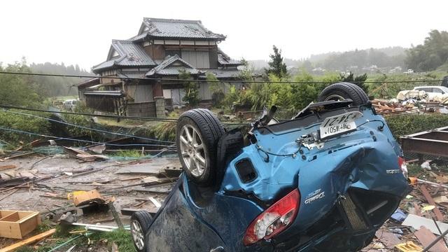 """Nhật Bản tan hoang sau siêu bão """"Quái vật"""" mạnh nhất trong 60 năm - 4"""
