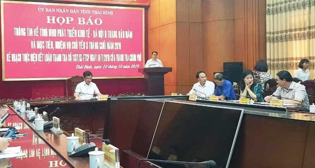 Thái Bình sẽ xử lý sai phạm theo kết luận của Thanh tra Chính phủ - 1
