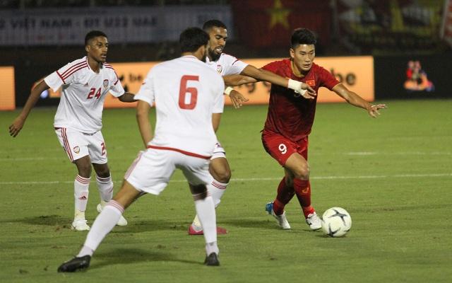 Đức Chinh ghi bàn, U22 Việt Nam cầm hòa U22 UAE - 12