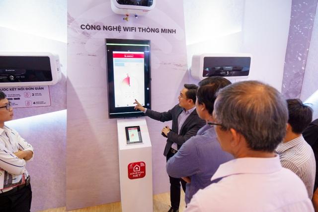 Xu hướng mới của thiết bị gia dụng: Bình nước nóng tích hợp wi-fi an toàn và tiện lợi - 4