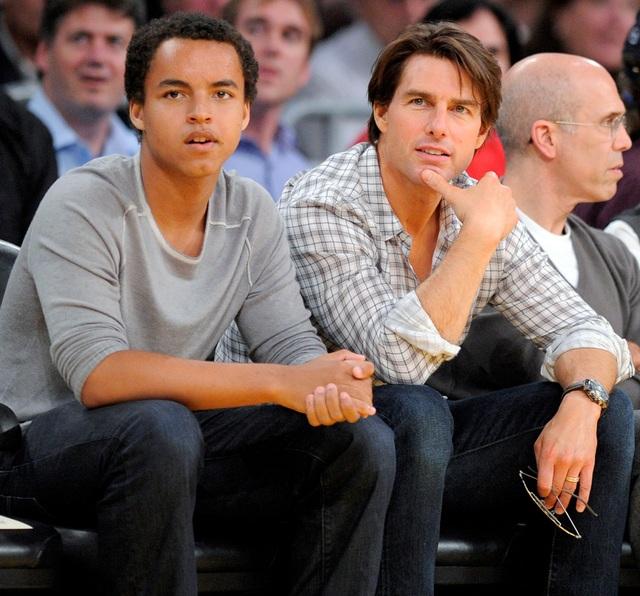 Tom Cruise và lần hiếm hoi xuất hiện bên con trai - 10