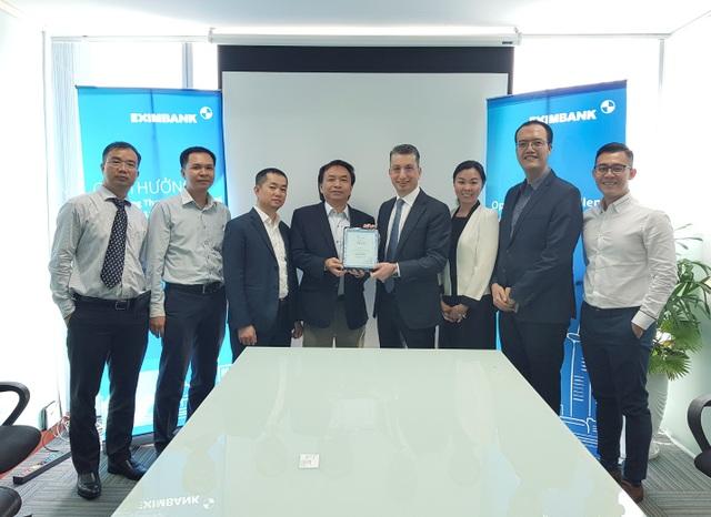 Bank of New York Mellon trao giải thưởng chất lượng thanh toán quốc tế xuất sắc cho Eximbank - 1