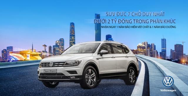 Tặng 1 năm bảo hiểm vật chất và bảo dưỡng khi mua VW Tiguan Allspace - 1