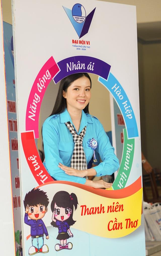Hoa khôi Huỳnh Thúy Vi vào Ban chấp hành Hội Liên hiệp Thanh niên Cần Thơ - 6