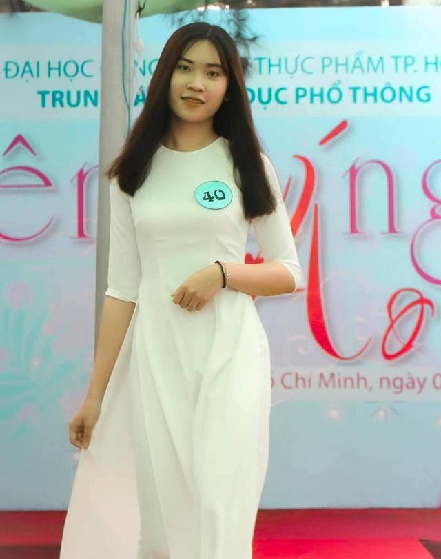 Nữ sinh Sài thành tươi xinh trong cuộc thi Duyên dáng áo dài - 4