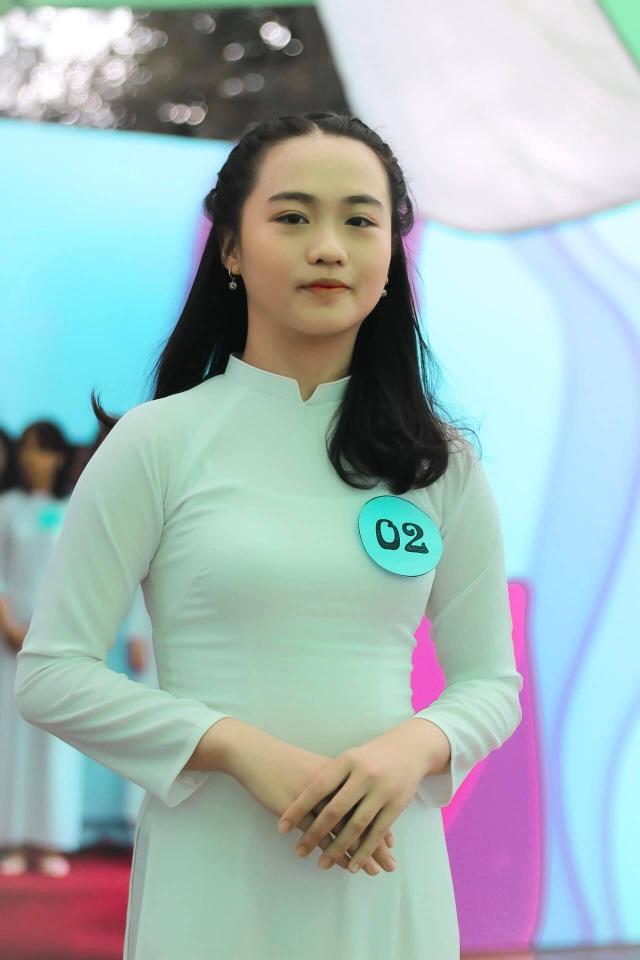 Nữ sinh Sài thành tươi xinh trong cuộc thi Duyên dáng áo dài - 8
