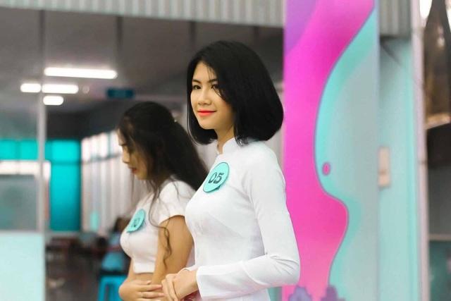 Nữ sinh Sài thành tươi xinh trong cuộc thi Duyên dáng áo dài - 7