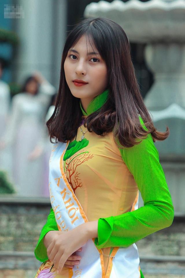 Nữ sinh Sài thành tươi xinh trong cuộc thi Duyên dáng áo dài - 11