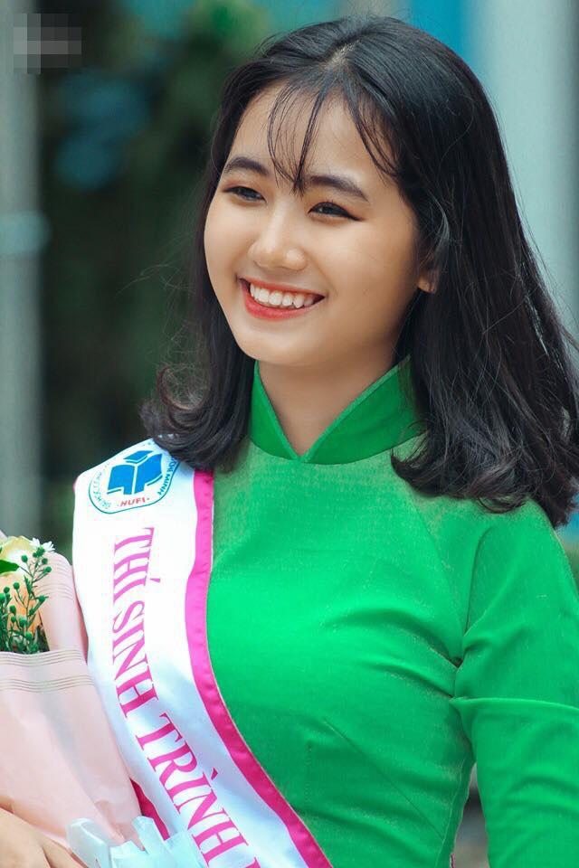 Nữ sinh Sài thành tươi xinh trong cuộc thi Duyên dáng áo dài - 9