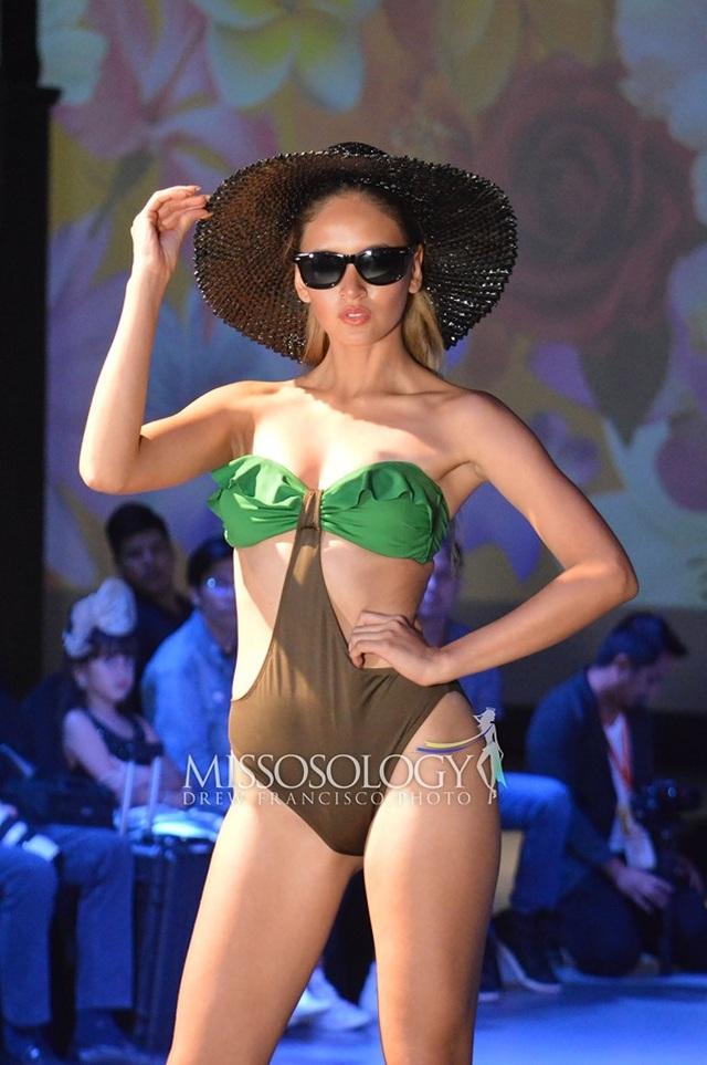 Thí sinh Hoa hậu Trái đất 2019 khoe thể hình trong phần thi áo tắm - 16