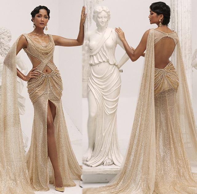 H'Hen Niê khác lạ khi hóa thân nữ thần Hy Lạp - 2