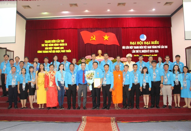 Hoa khôi Huỳnh Thúy Vi vào Ban chấp hành Hội Liên hiệp Thanh niên Cần Thơ - 1