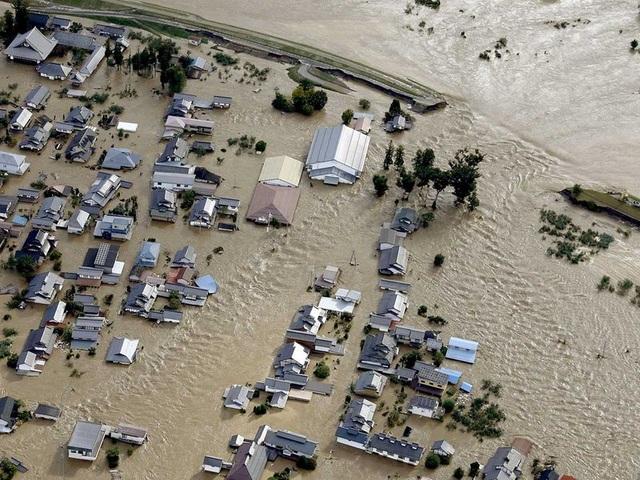 """Cảnh đổ nát sau siêu bão """"Quái vật"""" khiến 35 người chết tại Nhật Bản - 1"""