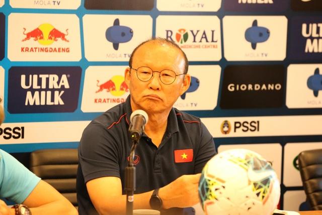 """HLV Park Hang Seo: """"Đội tuyển Việt Nam sẽ thắng Indonesia"""" - 1"""