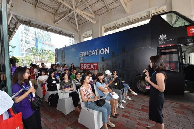Giới trẻ rủ nhau tham gia Triển lãm giáo dục Vương quốc Anh 2019 - 4