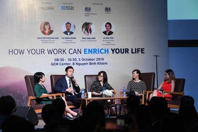 Giới trẻ rủ nhau tham gia Triển lãm giáo dục Vương quốc Anh 2019 - 7
