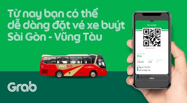 Grab thử nghiệm dịch vụ đặt vé xe buýt  - 1