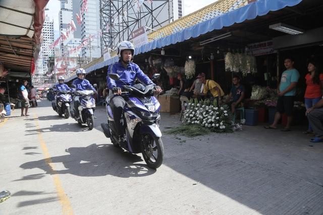 Kết thúc hành trình xuyên Đông Nam Á tại Philipines, động cơ Yamaha Blue Core gây ấn tượng mạnh - 4