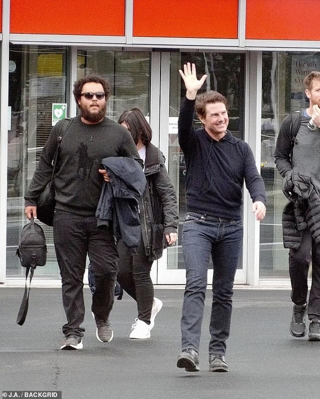 Tom Cruise và lần hiếm hoi xuất hiện bên con trai - 1