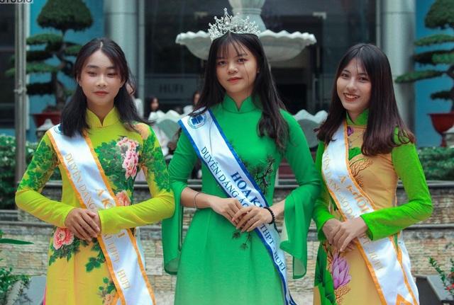 Nữ sinh Sài thành tươi xinh trong cuộc thi Duyên dáng áo dài - 5