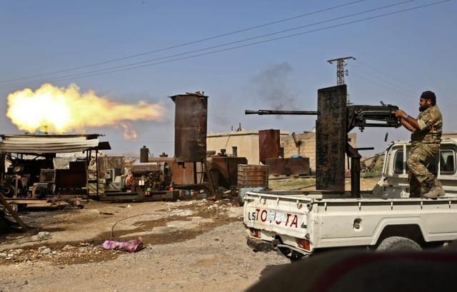 """Chọn phe Tổng thống Assad, người Kurd quyết """"đường ai nấy đi"""" với Mỹ? - 1"""