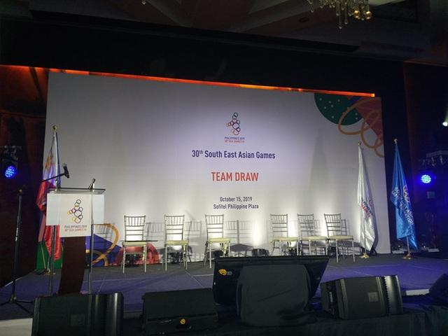 U22 Việt Nam cùng bảng với Thái Lan ở SEA Games 30 - 1
