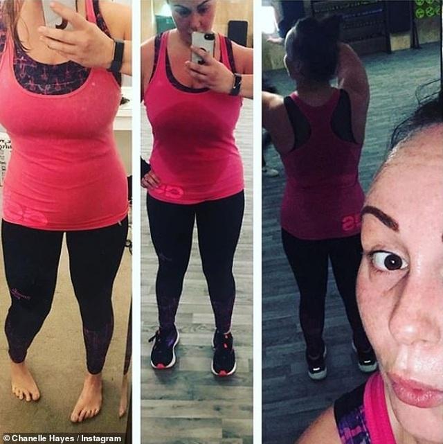 Giảm 20 kg, Chanelle Hayes tự tin diện trang phục gợi cảm - 5