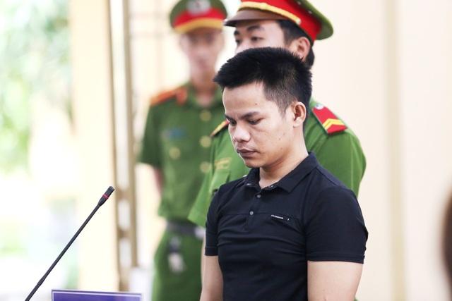 Bị cáo Phạm Tuấn tại phiên tòa