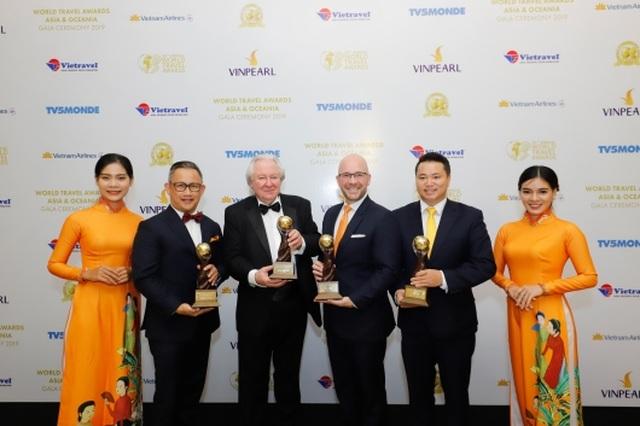 """""""Bão giải thưởng du lịch quốc tế"""" dành cho các công trình của Sun Group - 1"""