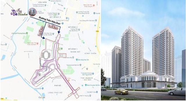 Bất động sản khu vực Mỹ Đình nổi sóng với siêu dự án Iris garden mang thương hiệu Vimefulland - 2
