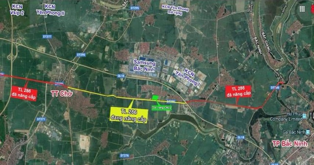 Dự án cải tạo, nâng cấp đường TL 286 đoạn Đông Yên - thị trấn Chờ chính thức khởi công - 1