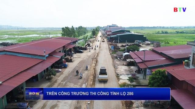Dự án cải tạo, nâng cấp đường TL 286 đoạn Đông Yên - thị trấn Chờ chính thức khởi công - 2
