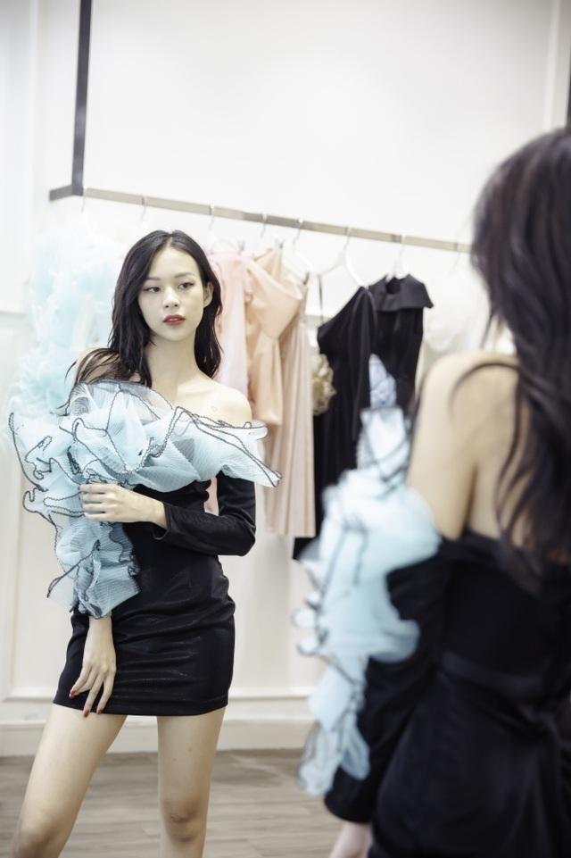 Dàn sao xúng xính thử đồ của Lê Ngọc Lâm trước show diễn Hoa hậu Hoàn vũ - 10