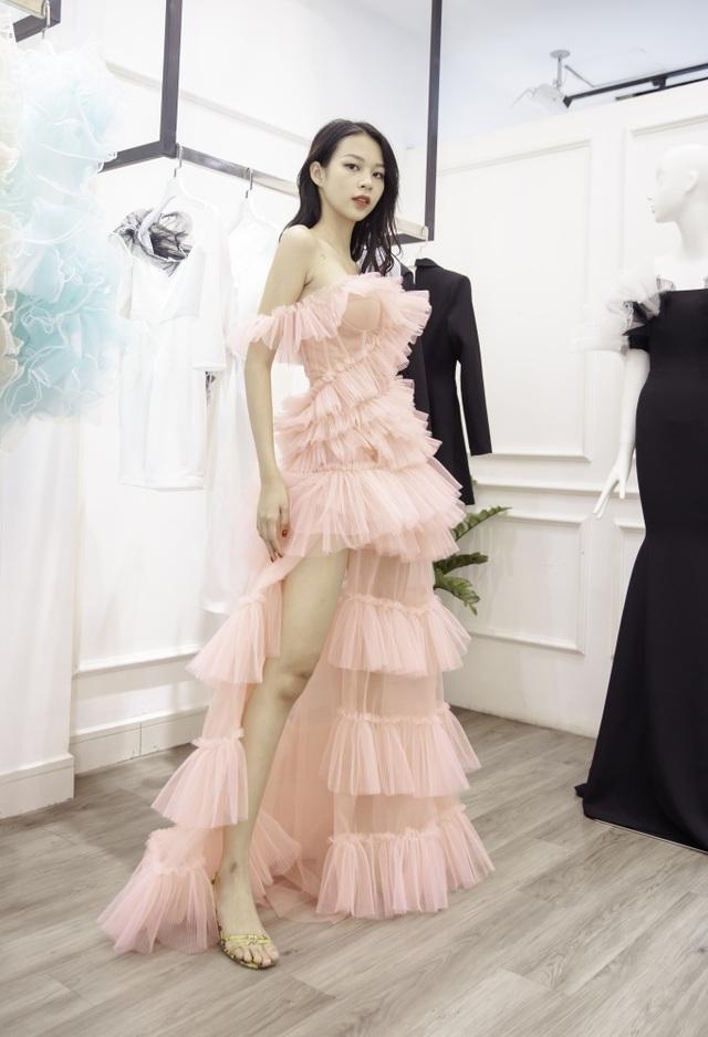 Dàn sao xúng xính thử đồ của Lê Ngọc Lâm trước show diễn Hoa hậu Hoàn vũ - 7