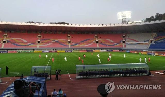 Trận bóng đá kỳ lạ không có khán giả giữa 2 miền bán đảo Triều Tiên - 3