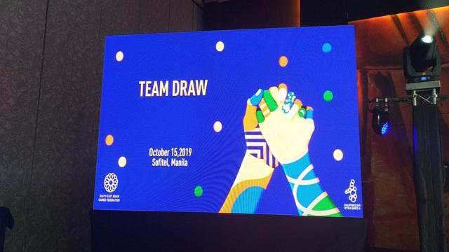 U22 Việt Nam cùng bảng với Thái Lan ở SEA Games 30 - 2