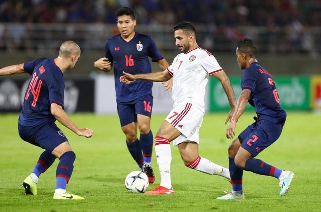 Những khoảnh khắc gây thất vọng của UAE trên sân Thái Lan - 9