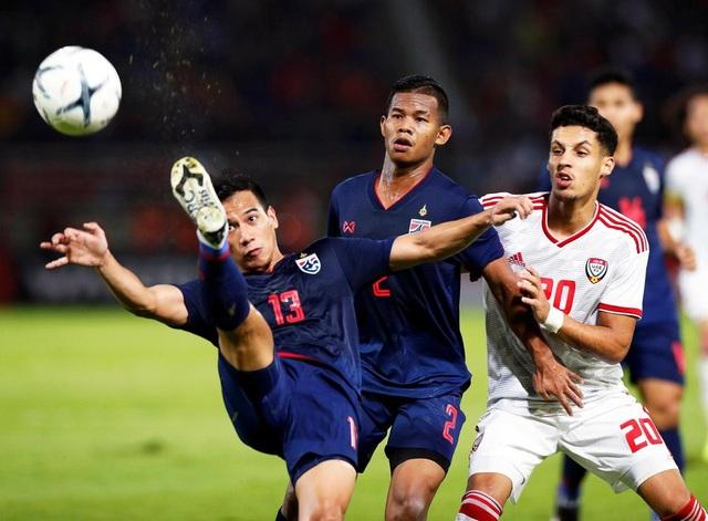 Những khoảnh khắc gây thất vọng của UAE trên sân Thái Lan - 10