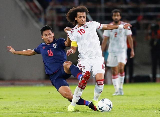 Những khoảnh khắc gây thất vọng của UAE trên sân Thái Lan - 16
