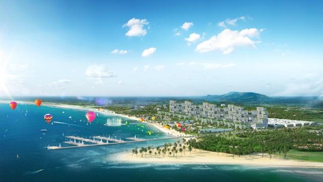 Khám phá tổ hợp Du lịch - Giải trí - Nghỉ dưỡng  Thể thao biển đẳng cấp Bình Thuận - 1