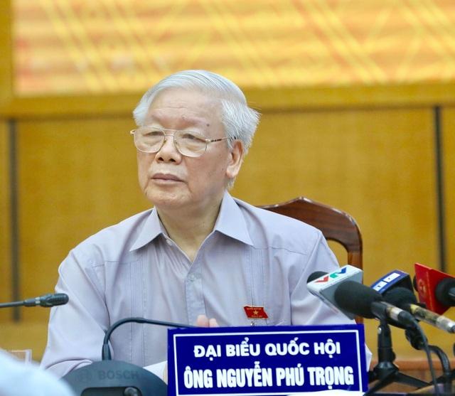 Tổng Bí thư, Chủ tịch nước tiếp xúc cử tri Hà Nội - 1