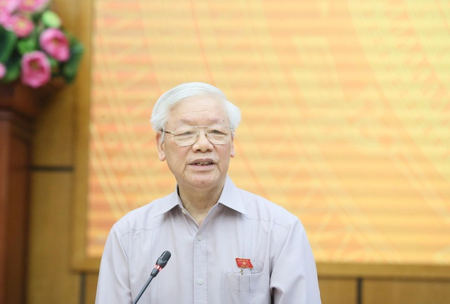 Tổng Bí thư, Chủ tịch nước nhắc Hà Nội nên quan tâm vấn đề ở tầm chiến lược - 1